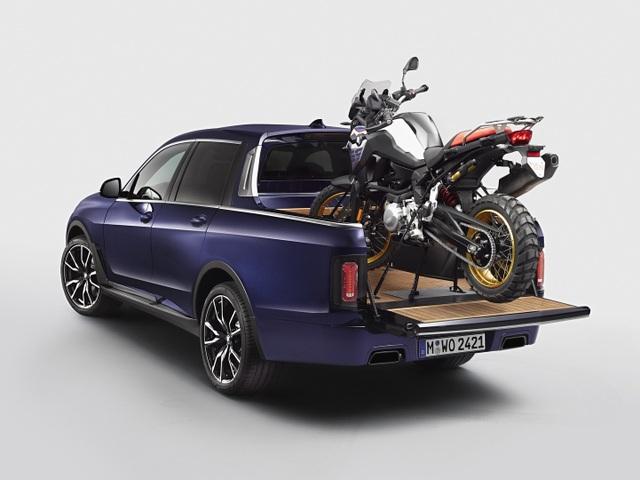 BMW bất ngờ tung loạt ảnh X7 phiên bản bán tải - 3