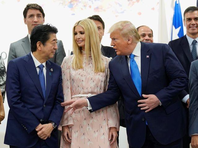 """Ông Trump phân trần việc con gái """"thể hiện quá đà"""" ở G20 - 1"""