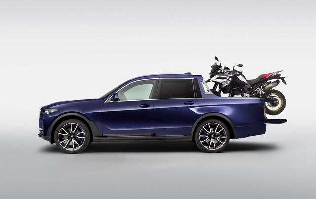 BMW bất ngờ tung loạt ảnh X7 phiên bản bán tải - 1