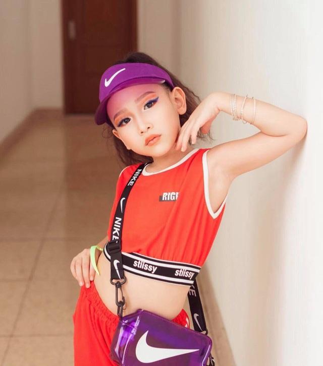 Chân dung mẫu nhí gốc Việt tự tin sải bước trên sàn diễn Dubai - 6