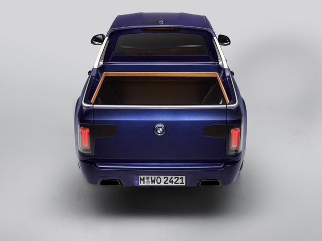 BMW bất ngờ tung loạt ảnh X7 phiên bản bán tải - 7
