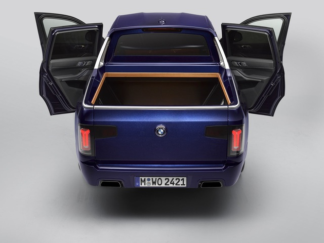 BMW bất ngờ tung loạt ảnh X7 phiên bản bán tải - 13