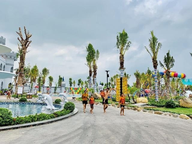 Một ngày trải nghiệm thú vị tại công viên nước Thanh Hà - 5