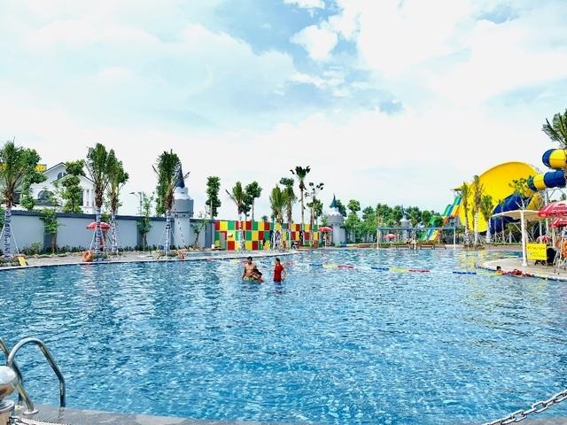 Một ngày trải nghiệm thú vị tại công viên nước Thanh Hà - 9