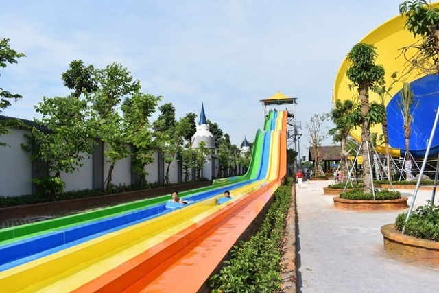 Một ngày trải nghiệm thú vị tại công viên nước Thanh Hà - 14