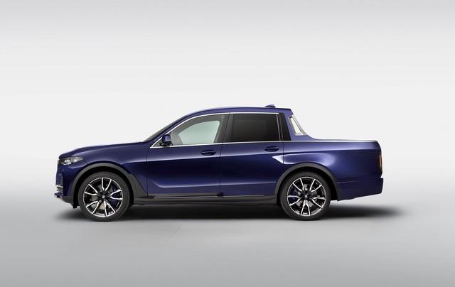 BMW bất ngờ tung loạt ảnh X7 phiên bản bán tải - 2