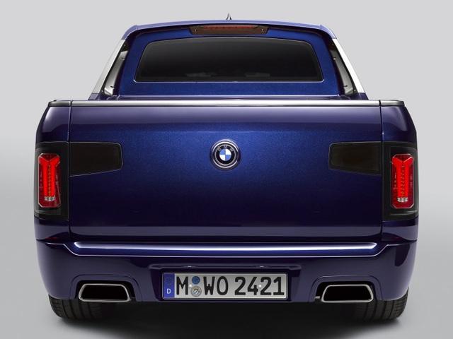 BMW bất ngờ tung loạt ảnh X7 phiên bản bán tải - 14