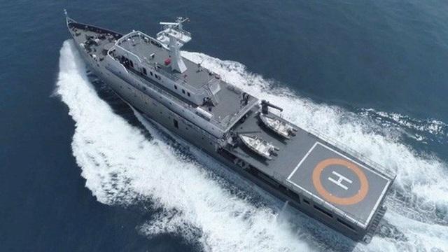"""Indonesia điều tàu """"khủng"""" tuần tra biển Đông - 1"""