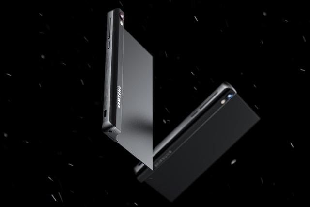 Ý tưởng Samsung Galaxy Stick với màn hình cuộn độc đáo - 4