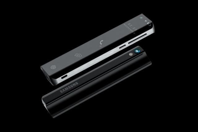 Ý tưởng Samsung Galaxy Stick với màn hình cuộn độc đáo - 5