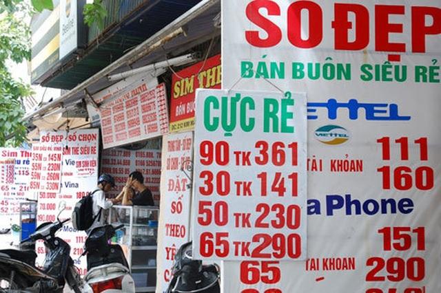 Đại lý bán SIM đã kích hoạt sẵn có thể bị xử phạt đến 40 triệu đồng - 1