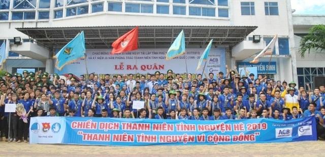 Phú Yên: Ra quân Chiến dịch thanh niên tình nguyện Mùa hè xanh 2019 - 1