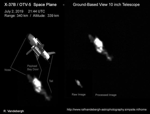 Phát hiện phi thuyền tối mật của quân đội Mỹ trên quỹ đạo - 2