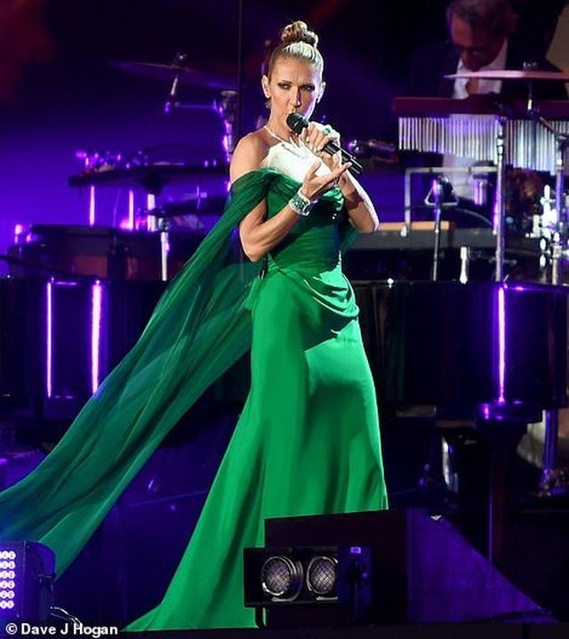 Celine Dion tràn đầy năng lượng trên sân khấu - 3