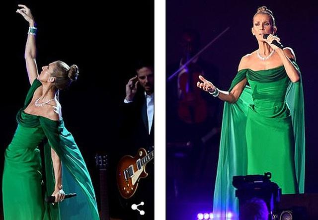 Celine Dion tràn đầy năng lượng trên sân khấu - 4