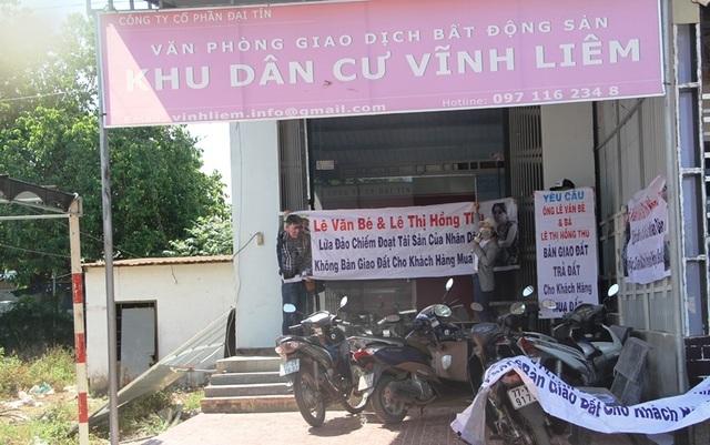 Chủ đầu tư bị tố lừa đảo cùng lô đất bán cho nhiều người tại Bình Định! - 1