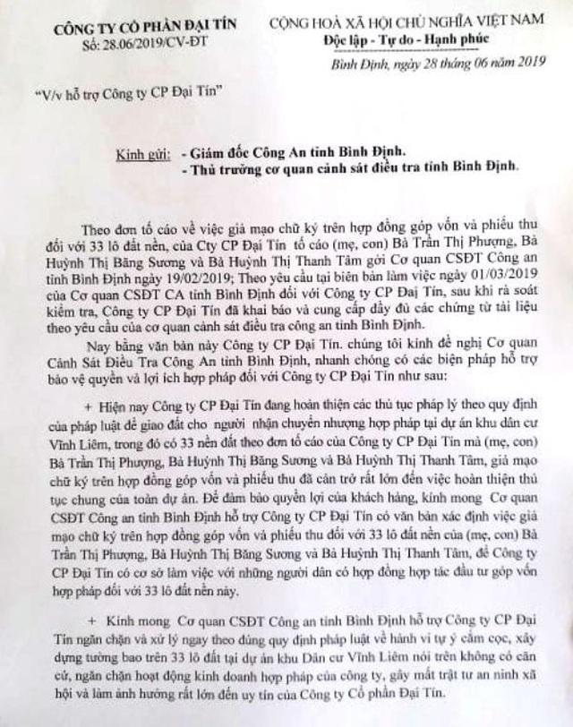 Chủ đầu tư bị tố lừa đảo cùng lô đất bán cho nhiều người tại Bình Định! - 5