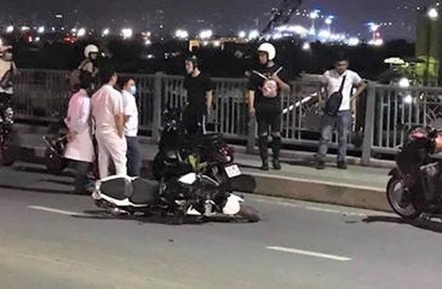 Người đàn ông nhặt ve chai bị tông tử vong trong đêm ở cầu Thủ Thiêm - 1