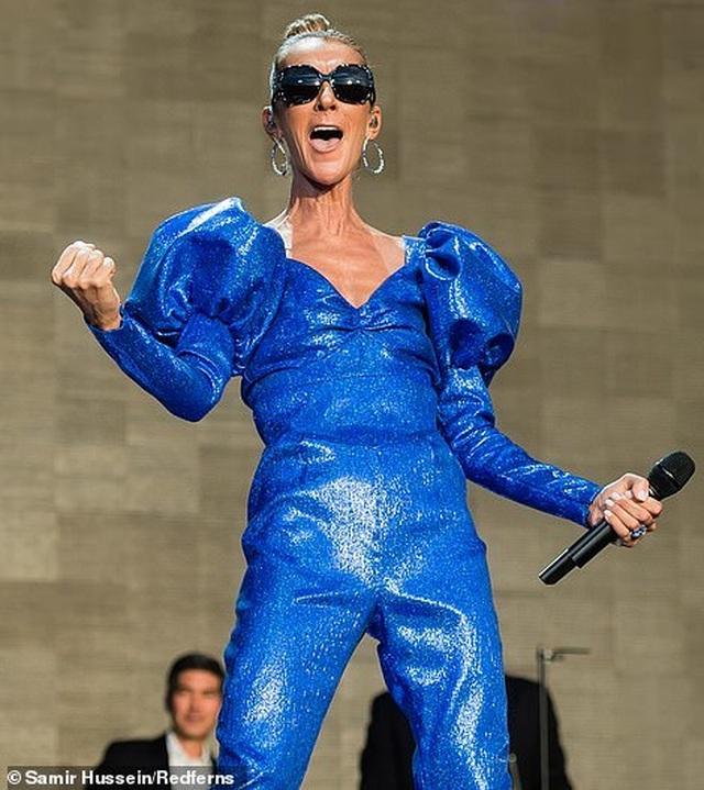 Celine Dion tràn đầy năng lượng trên sân khấu - 6