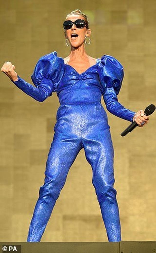 Celine Dion tràn đầy năng lượng trên sân khấu - 5