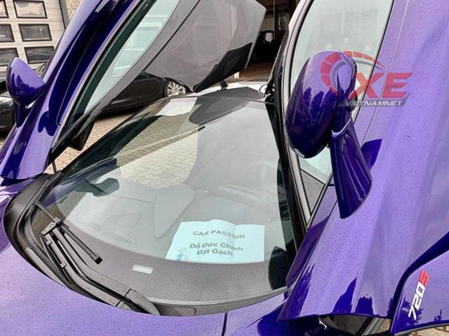 Đại gia Vũng Tàu đặt gạch siêu xe McLaren 26 tỷ đồng màu tím độc - 2
