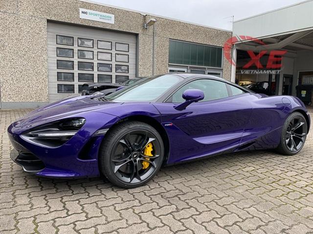 Đại gia Vũng Tàu đặt gạch siêu xe McLaren 26 tỷ đồng màu tím độc - 4