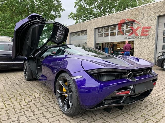 Đại gia Vũng Tàu đặt gạch siêu xe McLaren 26 tỷ đồng màu tím độc - 6