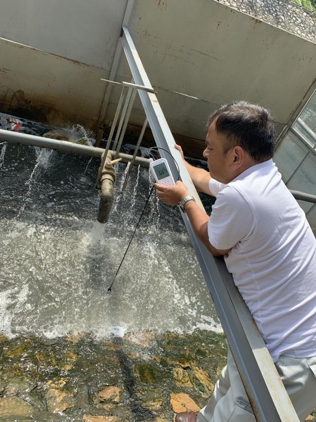 Công nghệ Nhật Bản giúp giảm đáng kể lớp bùn trên sông Tô Lịch - 2