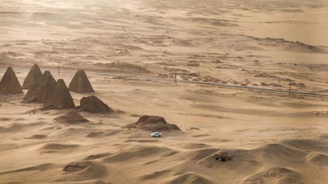 Bí ẩn những kim tự tháp bị lãng quên ở Sudan - 1