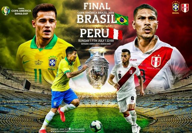 Chủ nhà Brazil sẽ hủy diệt Peru để vô địch Copa America? - 1