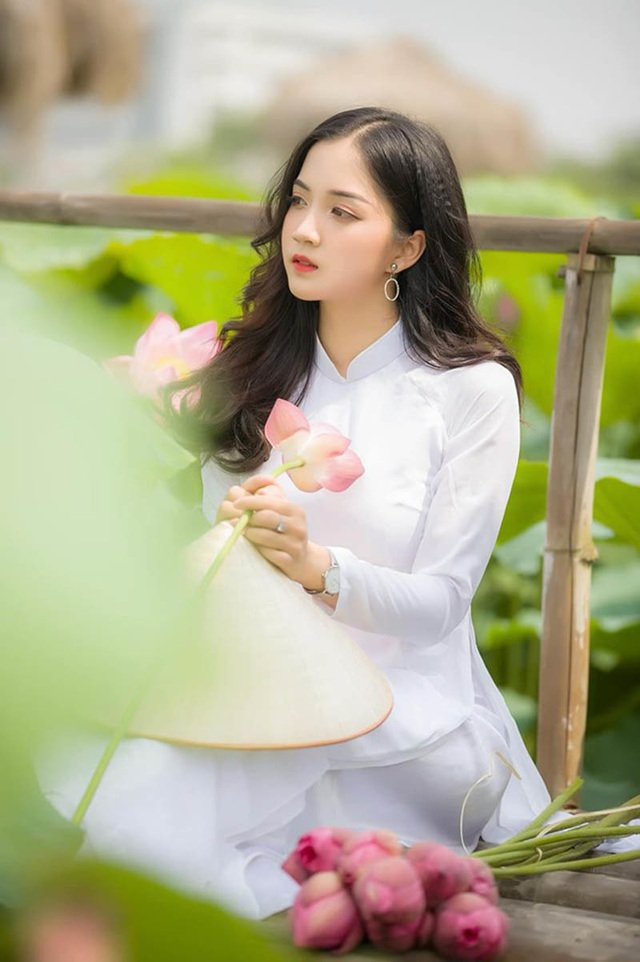 Ngỡ ngàng vẻ đẹp trong veo của thiếu nữ Bắc Giang - 5