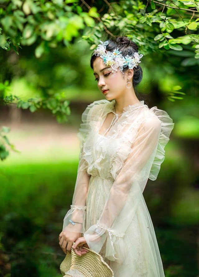 Ngỡ ngàng vẻ đẹp trong veo của thiếu nữ Bắc Giang - 10
