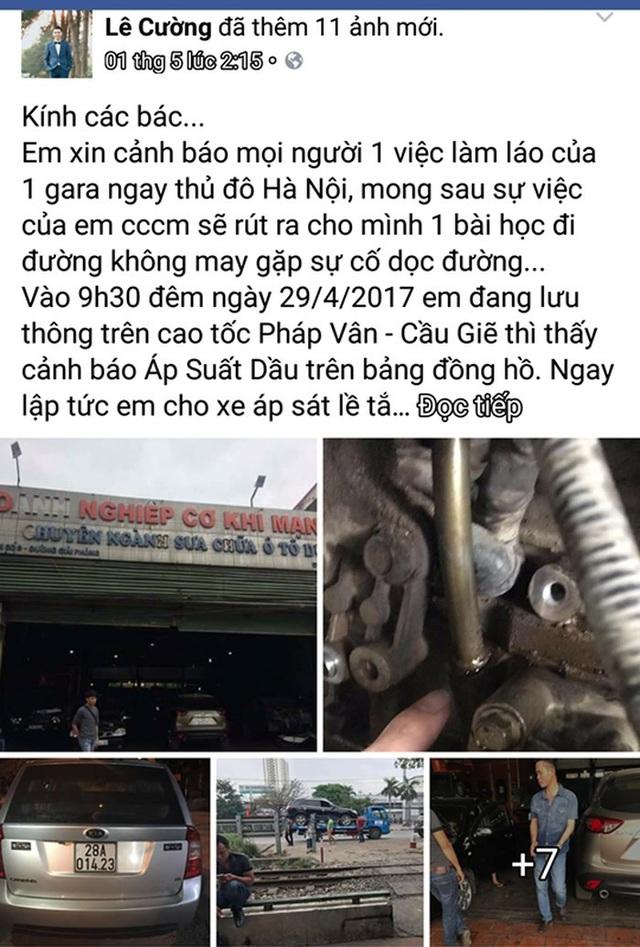 Những vụ tài xế bị chặt chém giá cứu hộ, sửa chữa ô tô - 2