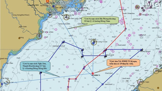 Điều tàu có thiết bị siêu vi tìm 9 ngư dân mất tích gần Bạch Long Vĩ - 1
