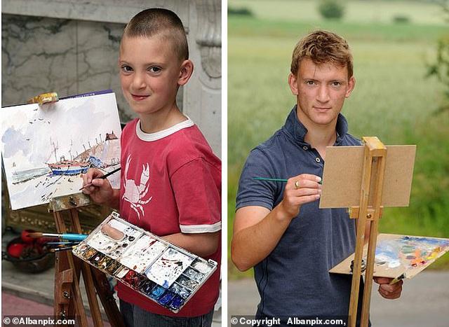 Cuộc sống của thần đồng hội họa 16 tuổi sở hữu gia sản lớn - 1