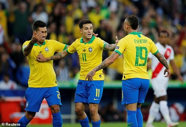 Chiến thắng trong thế thiếu người, Brazil vô địch Copa America - 12