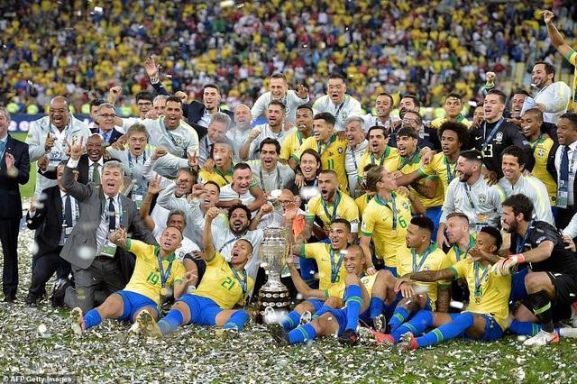 Những khoảnh khắc Brazil hạ Peru để vô địch Copa America 2019 - 16