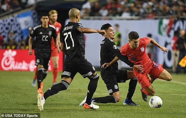 Đánh bại tuyển Mỹ, Mexico lần thứ 11 vô địch Gold Cup - 3