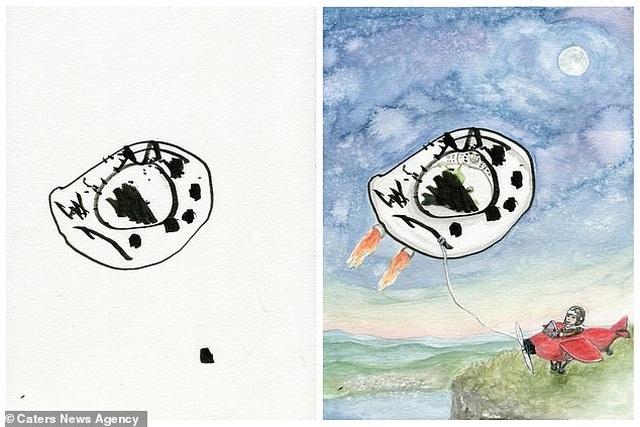 Người mẹ biến những nét vẽ nguệch ngoạc của con trở thành tác phẩm nghệ thuật - 3