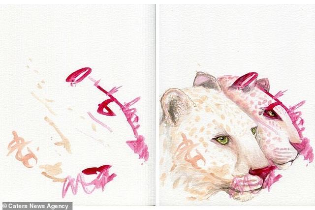 Người mẹ biến những nét vẽ nguệch ngoạc của con trở thành tác phẩm nghệ thuật - 6