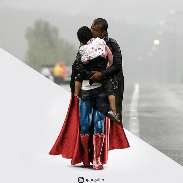 """Dân mạng rơi nước mắt với bộ ảnh """"sự trái ngược đáng sợ giữa chiến tranh và hòa bình"""" - 20"""