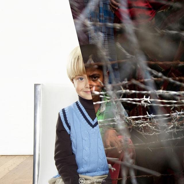 """Dân mạng rơi nước mắt với bộ ảnh """"sự trái ngược đáng sợ giữa chiến tranh và hòa bình"""" - 9"""