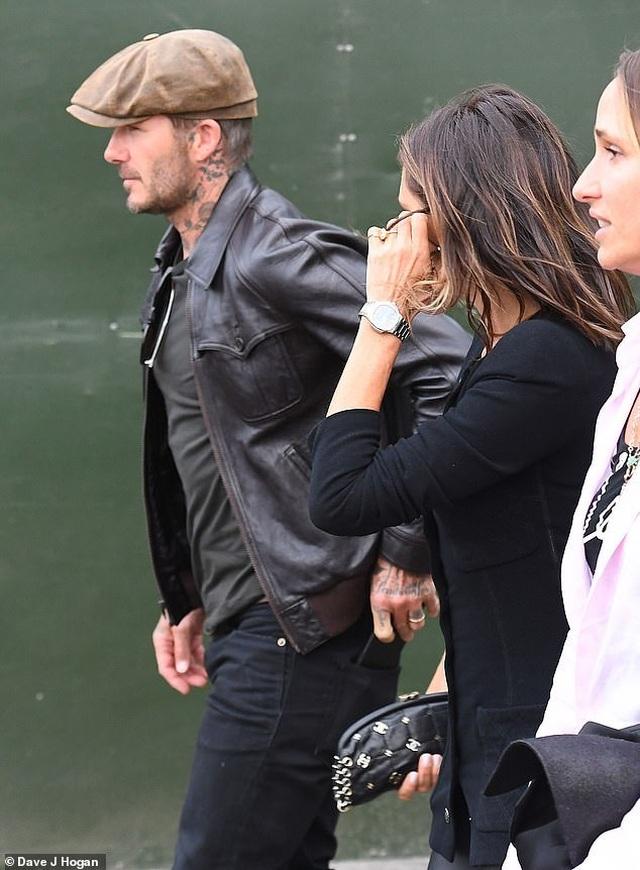 Vợ chồng Beckham sành điệu đi xem ca nhạc - 6