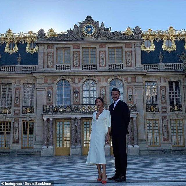 Vợ chồng Beckham sành điệu đi xem ca nhạc - 8