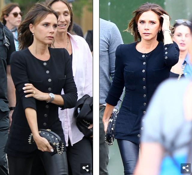 Vợ chồng Beckham sành điệu đi xem ca nhạc - 3
