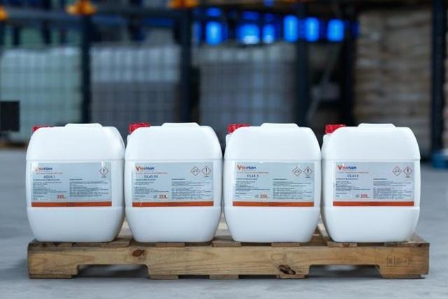 VinaFoam đưa nhà máy chất tạo bọt chữa cháy vào hoạt động - 9