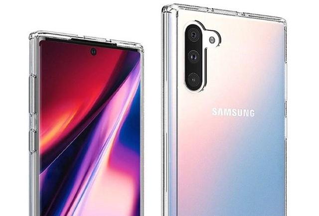 Bộ đôi Galaxy Note10 lộ diện rõ nét qua loạt ảnh chính thức - 1