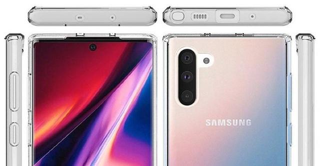Bộ đôi Galaxy Note10 lộ diện rõ nét qua loạt ảnh chính thức - 4