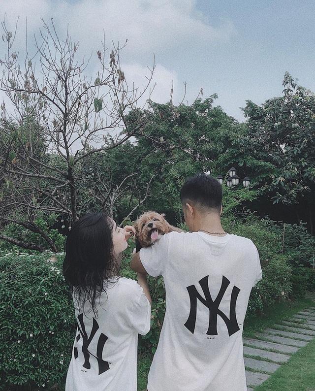 Cầu thủ Hà Đức Chinh và bạn gái: Từ úp mở tới công khai tỏ tình - 6