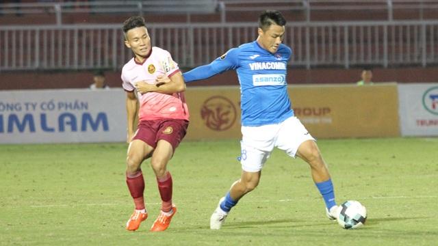 Mạc Hồng Quân ghi bàn, Than Quảng Ninh vẫn bị chia điểm ở sân Thống Nhất - 1